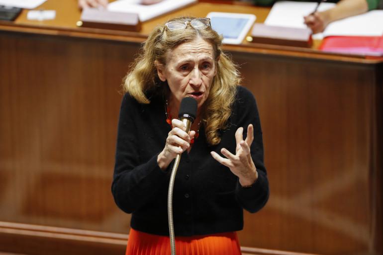 Nicole Belloubet, ministre de la Justice, à l'Assemblée nationale le 7 novembre 2017