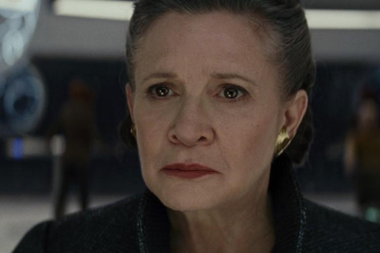 """La Générale Organa dévoile ses faiblesses dans """"Star Wars 8"""""""