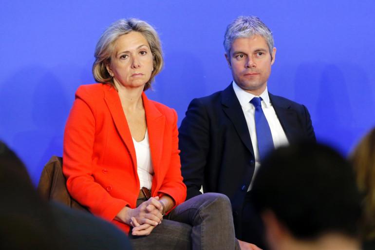 Valérie Pécresse et Laurent Wauqiez, le 23 mars 2013