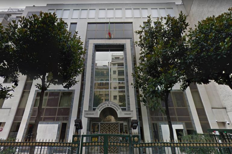 Le Consulat Général du Cameroun à Paris.