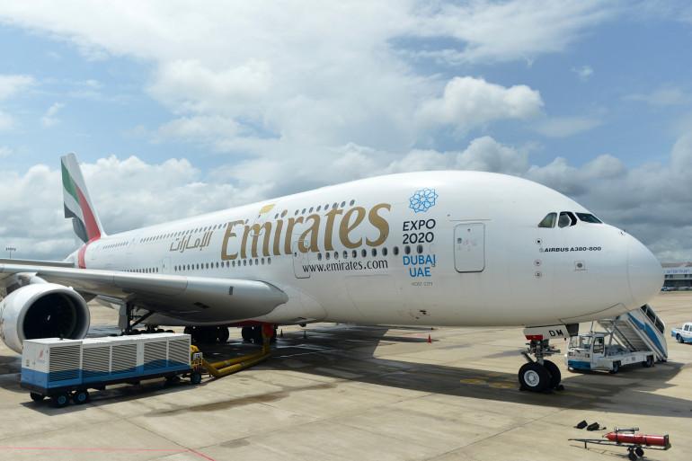 Un avion de ligne de la compagnie aérienne Emirates