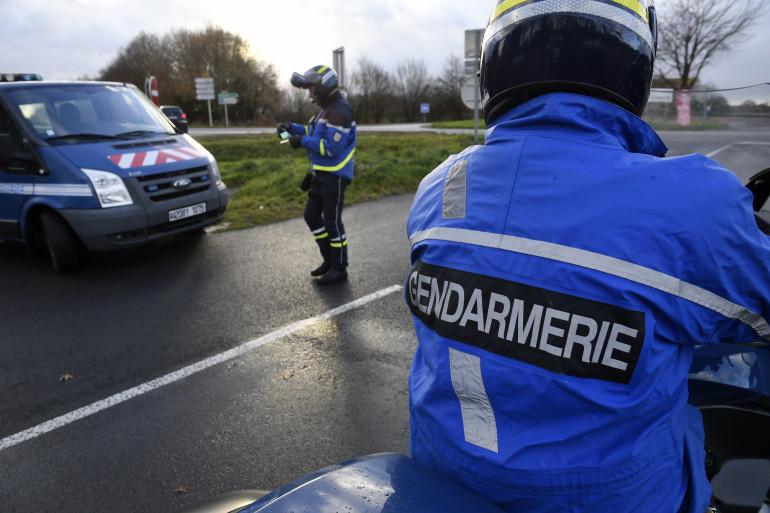 Des gendarmes participant à une opération de sécurité routière (illustration)