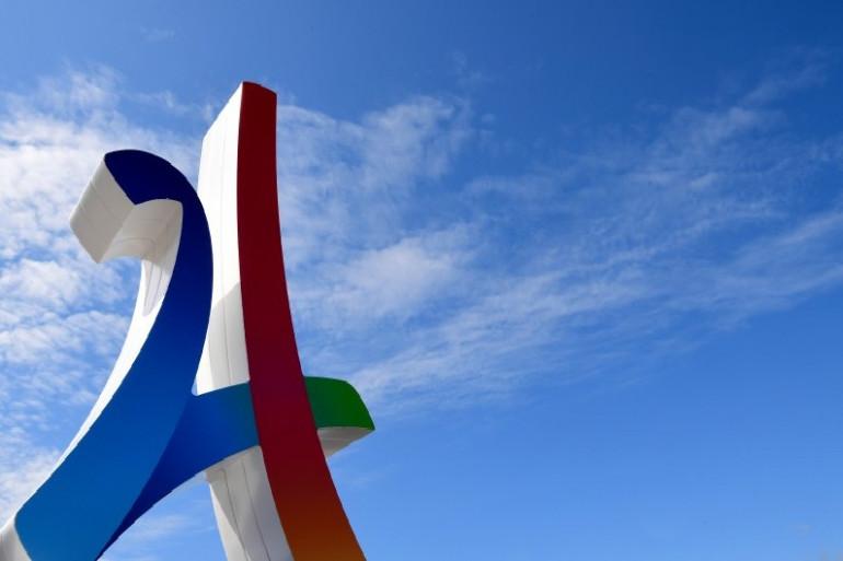 Un logo de la campagne en faveur de Paris2024
