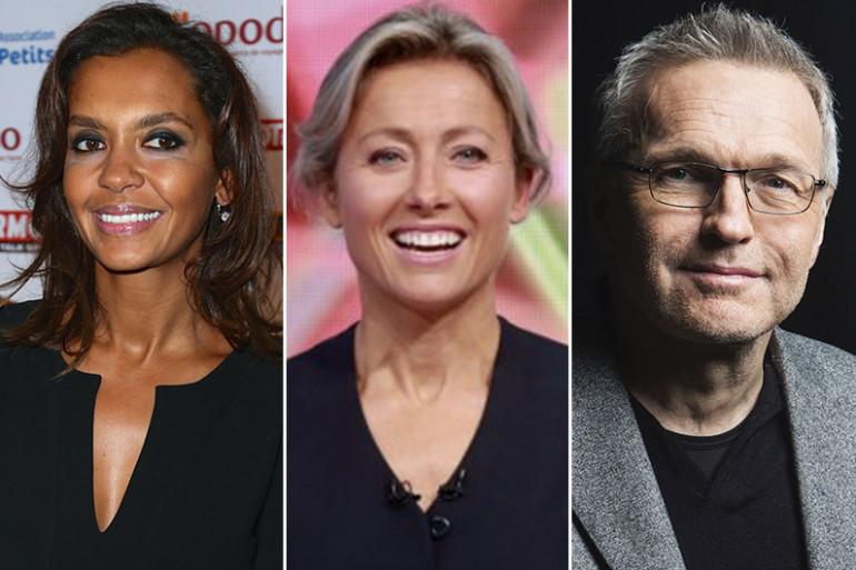 Karine Le Marchand, Anne-Sophie Lapix et Laurent Ruquier sont parmi les animateurs qui ont marqué l'année télé écoulée.