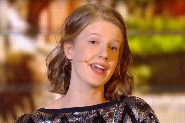 """Roxane, gagnante de l'édition 2017 de """"Prodiges"""""""