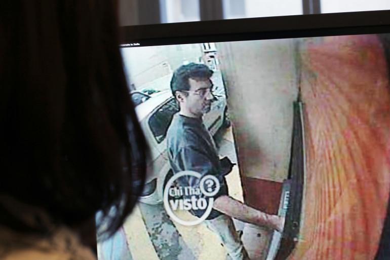 Xavier Dupont de Ligonnès enregistré par une caméra de surveillance, en 2011