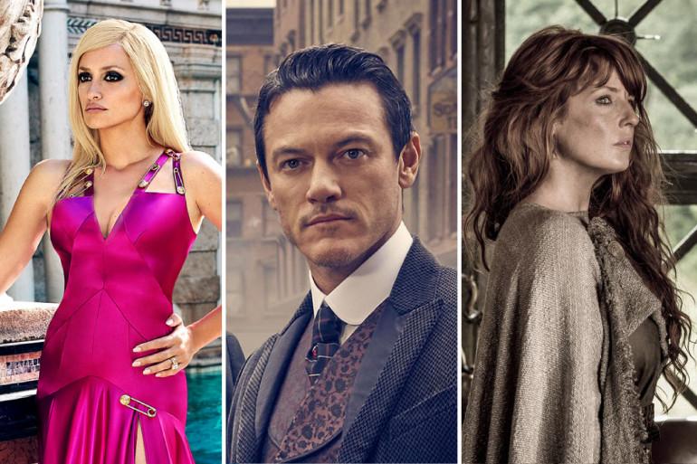 Penelope Cruz, Luke Evans et Kelly Reilly seront les visages de cette année 2018 côté séries