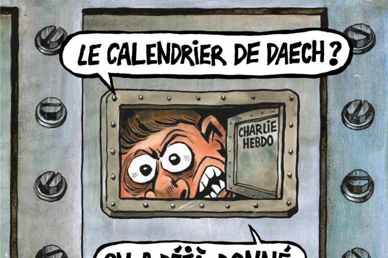 """La Une du numéro de """"Charlie Hebdo"""" du 3 janvier"""