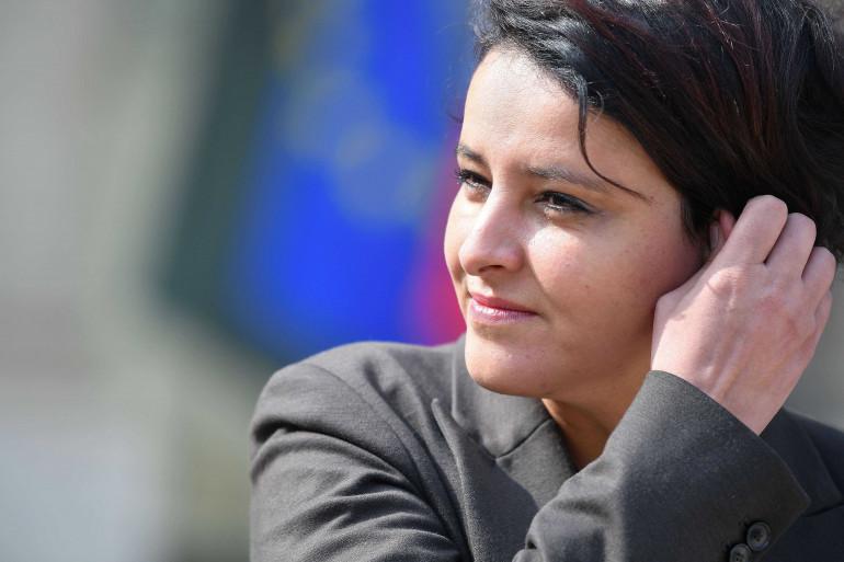Najat Vallaud-Belkacem, le 5 avril 2017