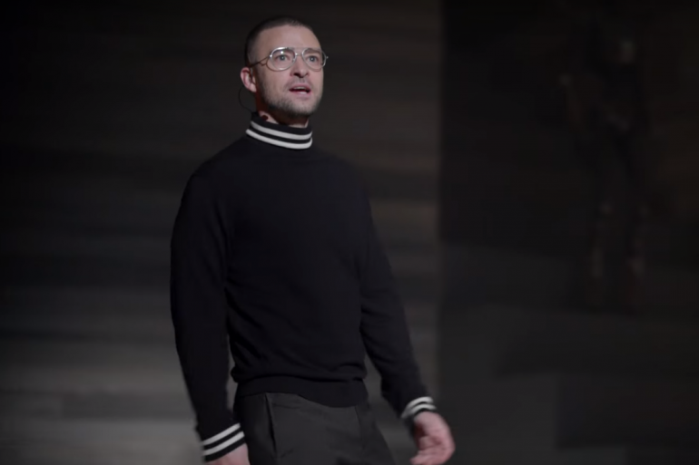 """Justin Timberlake dans le clip """"Fithy"""""""