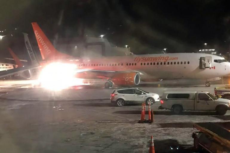 Deux avions sont entrés en collision sur le tarmac de l'aéroport de Toronto
