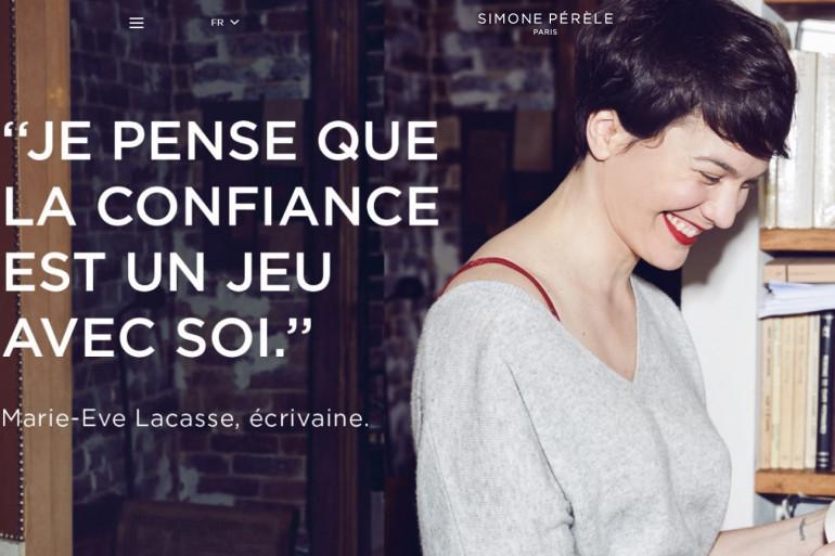 Pour la première fois les marques de lingerie Intimissimi et Simone Pérèle font de la publicité sans femmes dénudées
