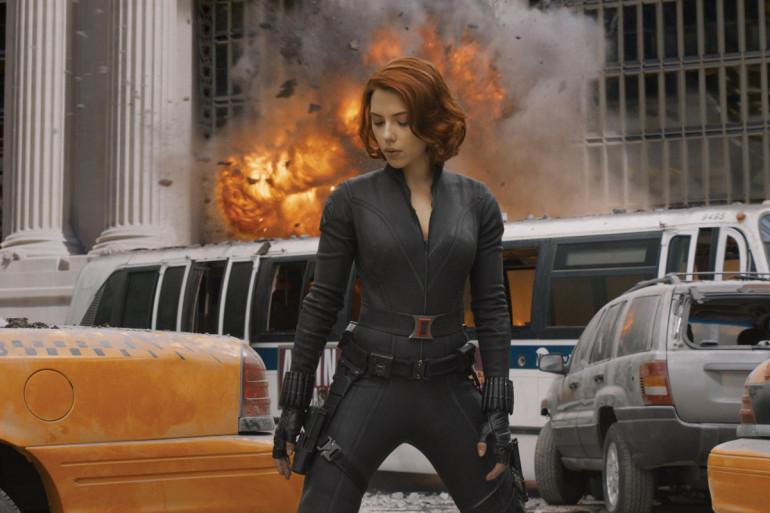 """Scarlett Johansson incarne Black Widow au cinéma depuis """"Avengers"""""""
