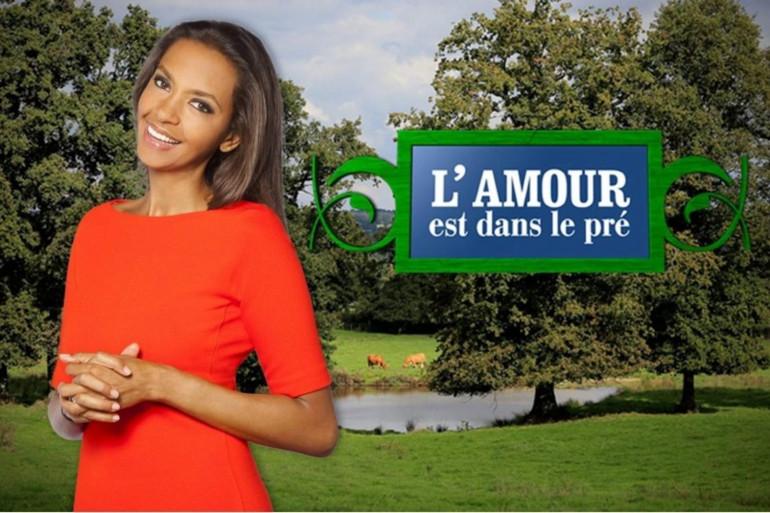 """Karine Le Marchand est la présentatrice de """"L'amour est dans le pré"""" sur M6"""