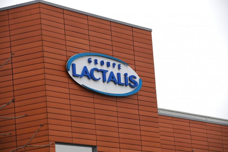 Une vue du siège de Lactalis à Laval, le 12 janvier 2018