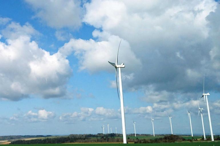 Des éoliennes (illustration)