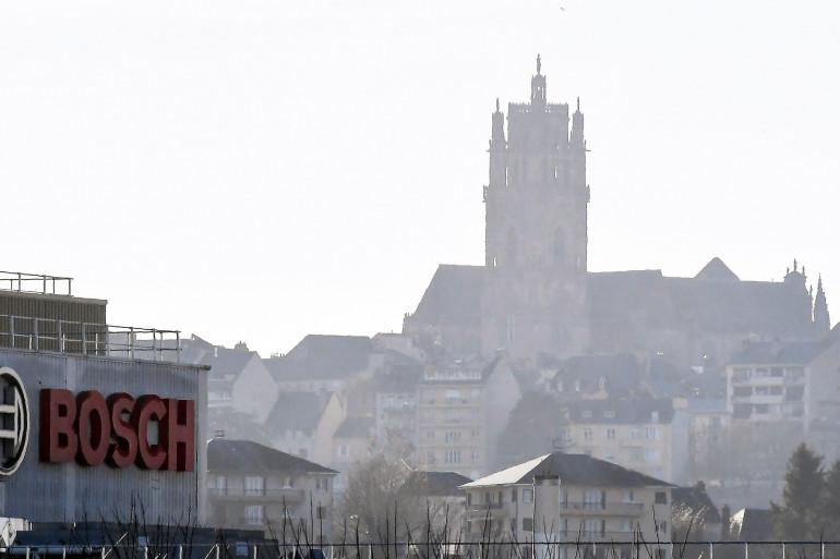 Vue de Rodez (illustration)