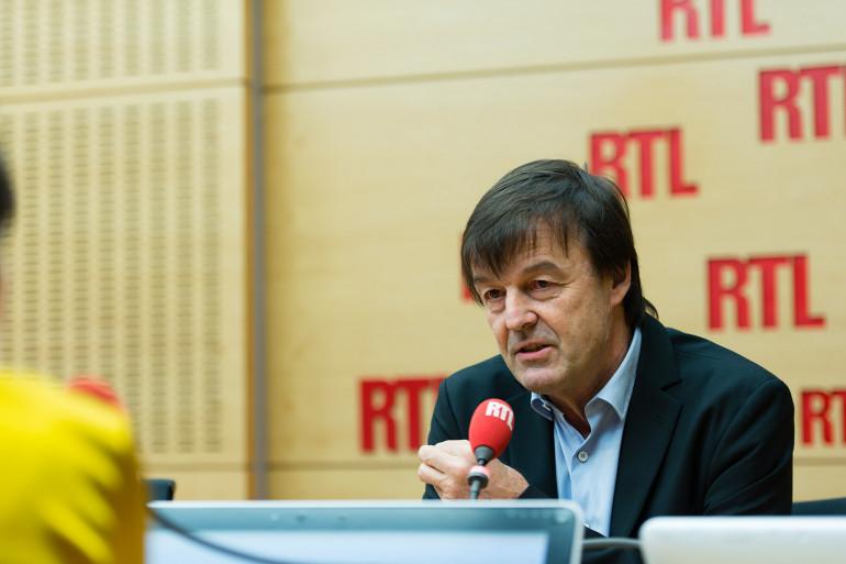 Nicolas Hulot était l'invité de RTL Matin le 18 janvier 2018