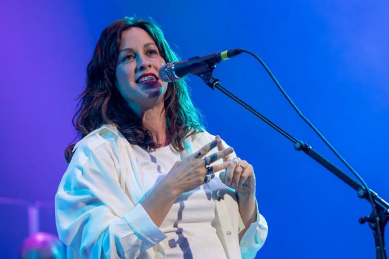 Alanis Morissette en concert au Texas en mai 2019.