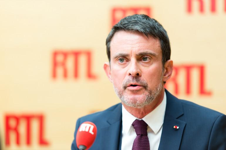 Manuel Valls était l'invité de RTL Matin le 19 janvier 2018