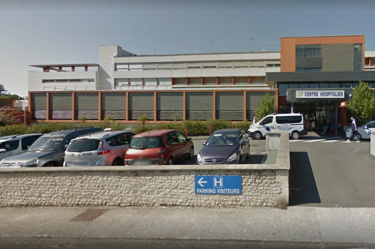 Le centre hospitalier de Jonzac, où le chirurgien a officié.