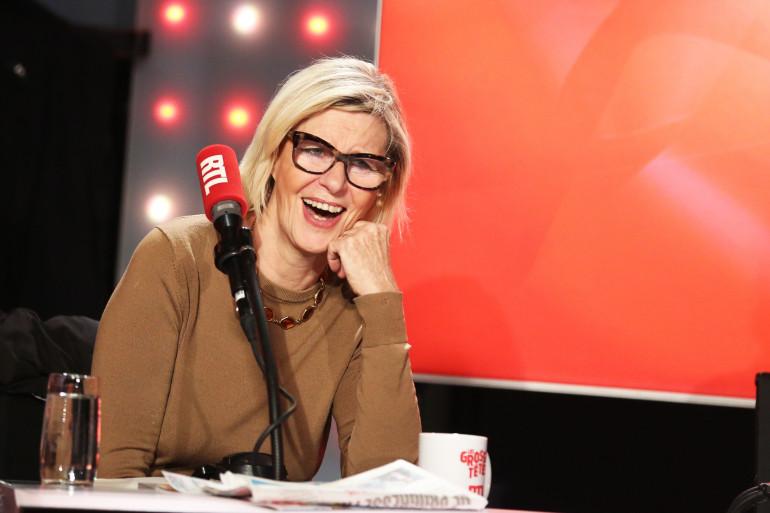 """Chantal Ladesou dans """"Les Grosses Têtes"""""""