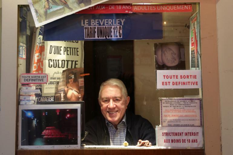 """Maurice Laroche, directeur depuis 1983 du cinéma """"Le Beverley"""""""
