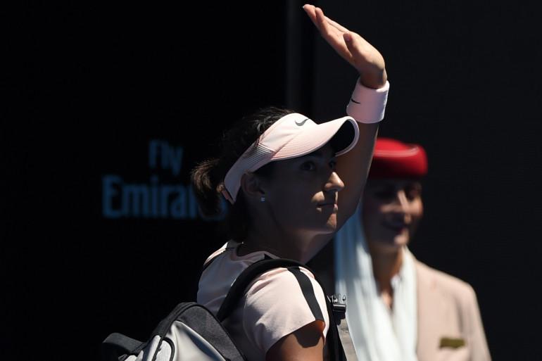 Caroline Garcia défaite en huitièmes de final de l'Open d'Australie.