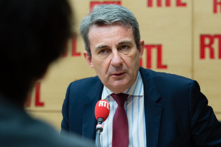 Jean-Christophe Fromantin, invité de RTL le 22 janvier 2018.