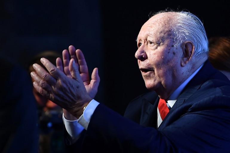 Jean-Claude Gaudin est l'ancien maire de Marseille