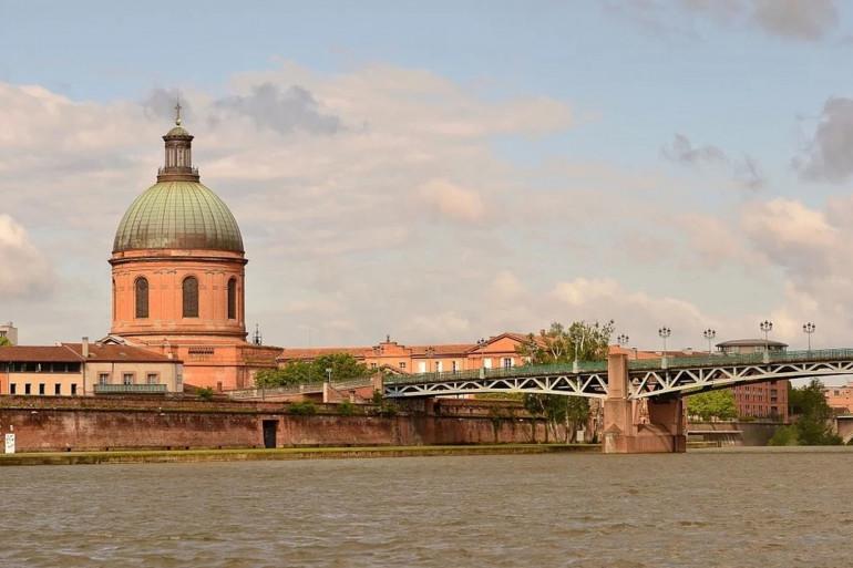 Une vue de la ville de Toulouse (illustration)