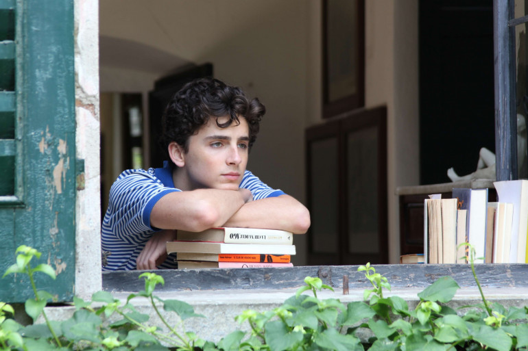 """Timothée Chalamet dans """"Call Me by Your Name"""""""