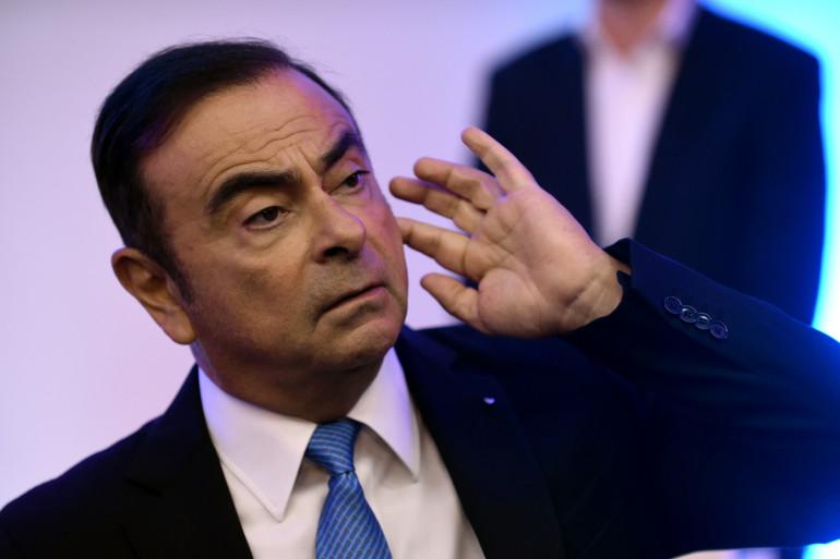 Carlos Ghosn, le PDG de Renault-Nissan, en octobre 2017