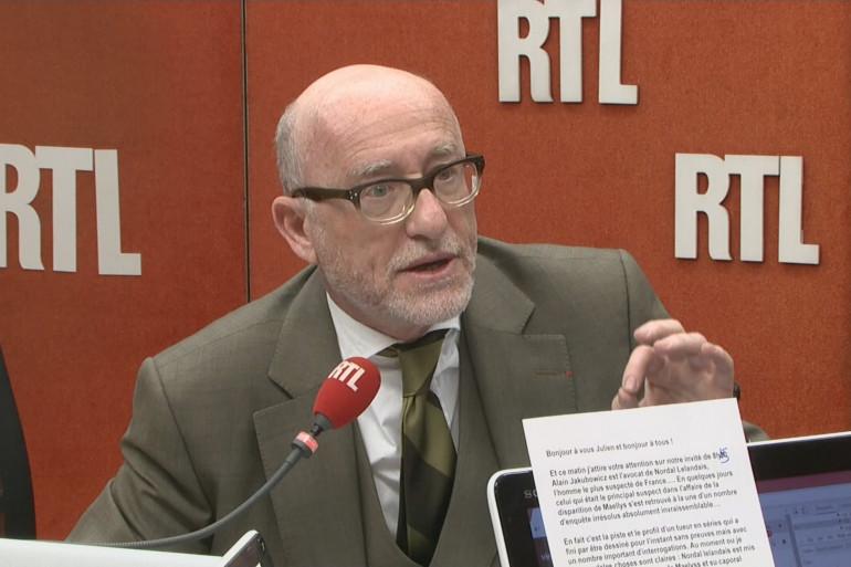 L'avocat de Nordahl Lelandais s'exprime sur RTL mercredi 24 janvier 2018.