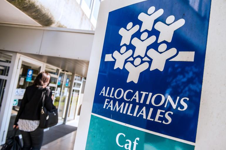 Une Caisse d'allocations familiales (illustration)