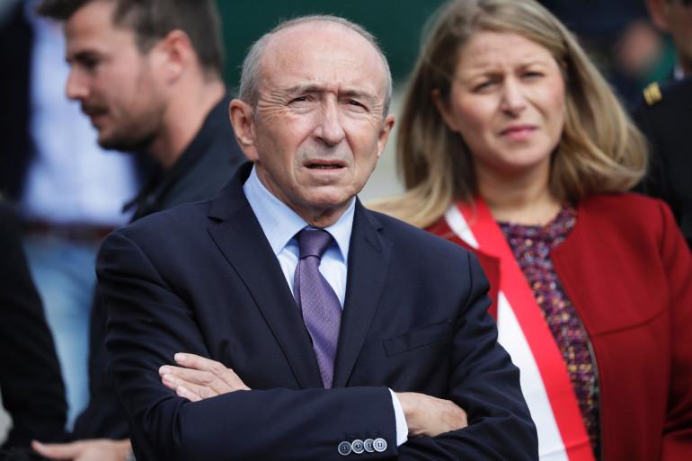 Gérard Collomb, le 20 septembre 20017