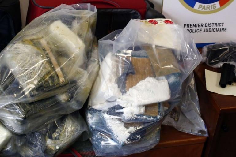 Une saisie de cocaïne réalisée par les douanes françaises (image d'illustration).