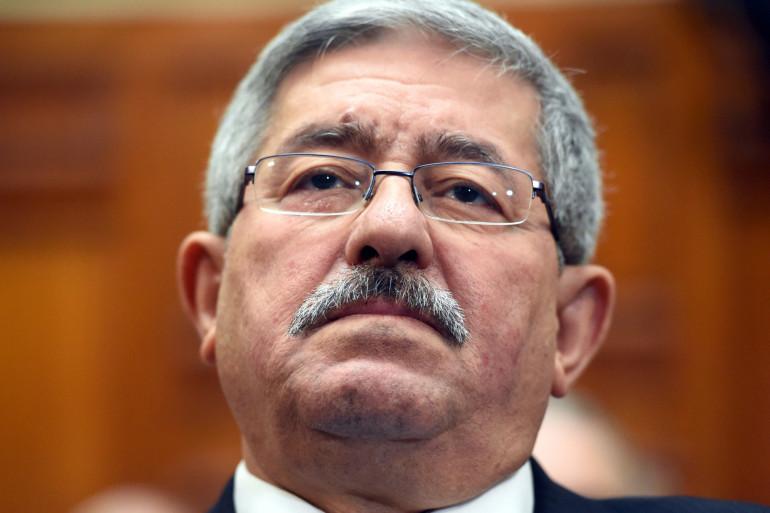 L'ancien Premier ministre algérien  Ahmed Ouyahia