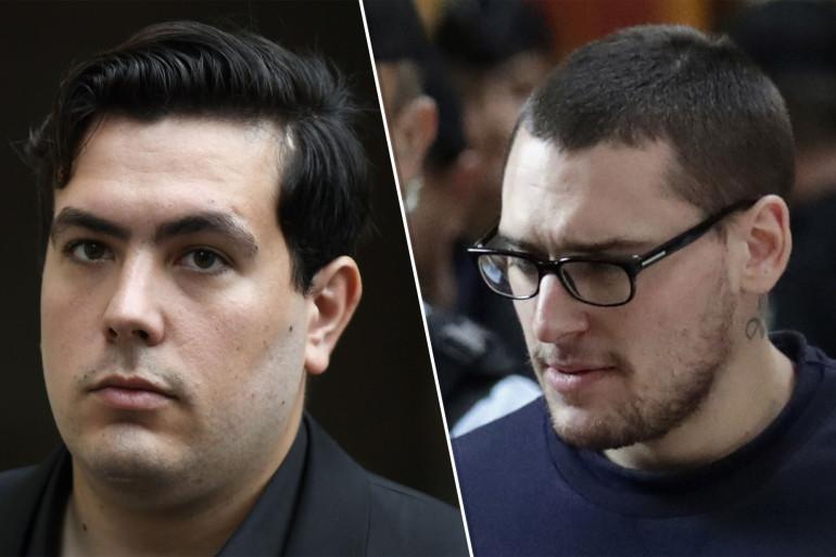 Esteban Morillo et Samuel Dufour, les deux principaux accusés du procès de la mort de Clément Méric