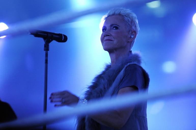Marie Fredriksson, chanteuse du duo Roxette, le 19 mars 2011