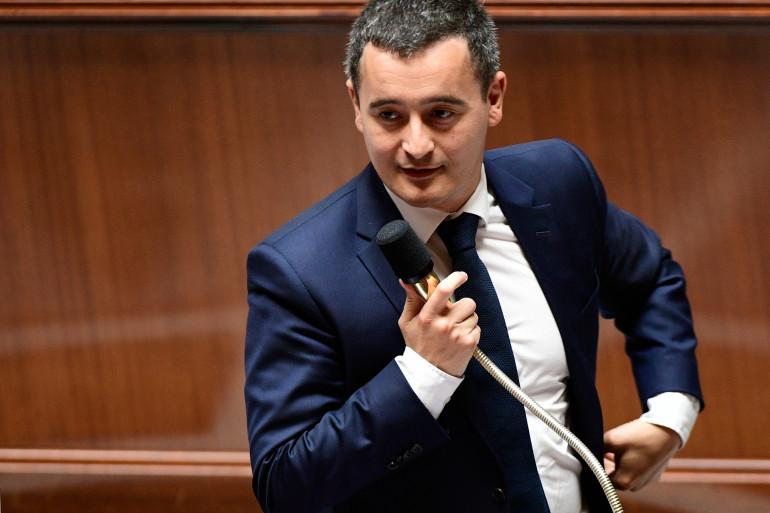 Gérald Darmanin, le 5 juillet 2017 à l'Assemblée nationale