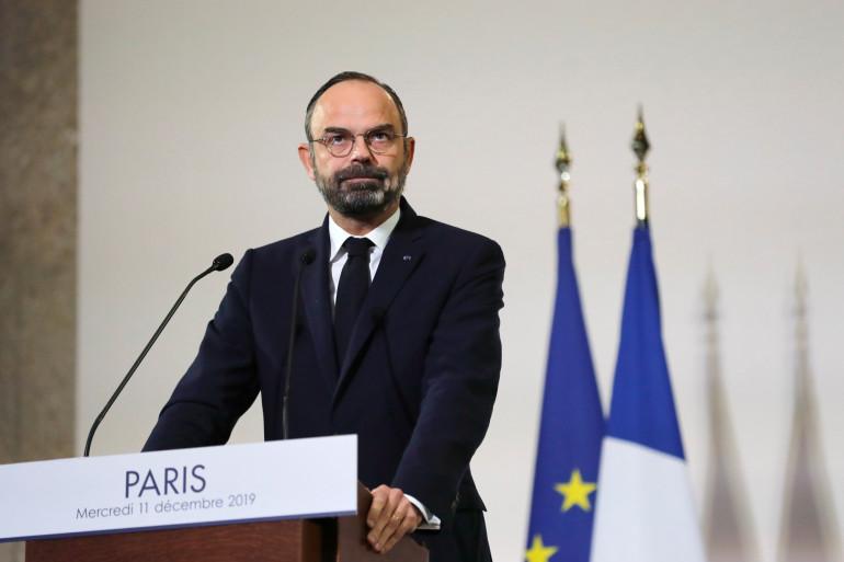 Edouard Philippe, lors de la présentation de la réforme des retraites, le 11 décembre 2019