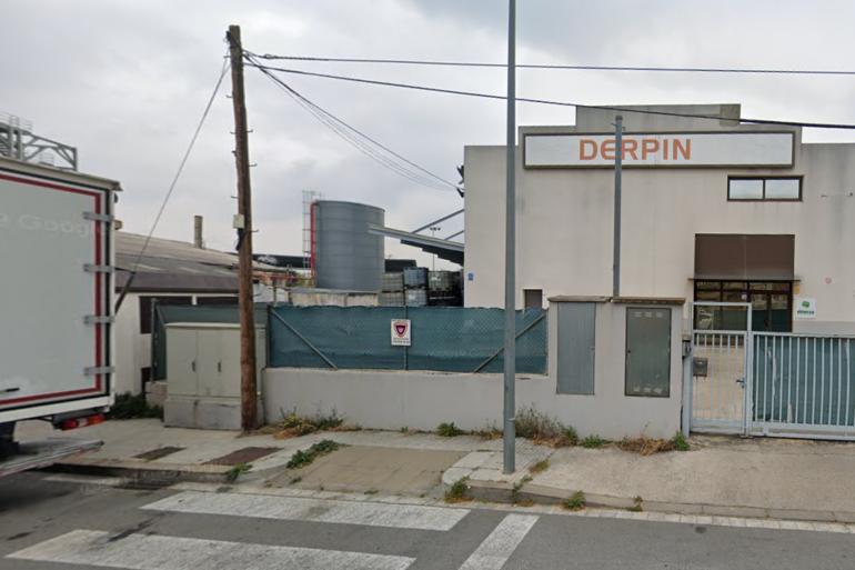 L'usine Derpin, dans la commune de de Montornès del Vallès, près de Barcelone en Espagne.