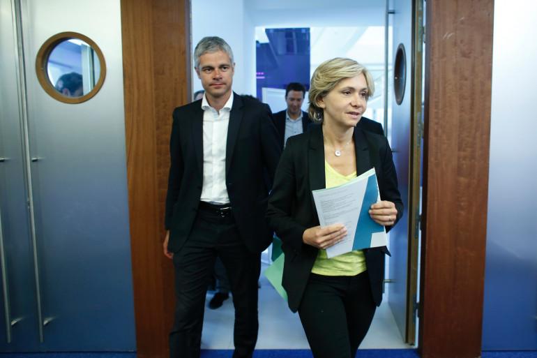 Laurent Wauquiez et Valérie Pécresse, le 24 juin 2015