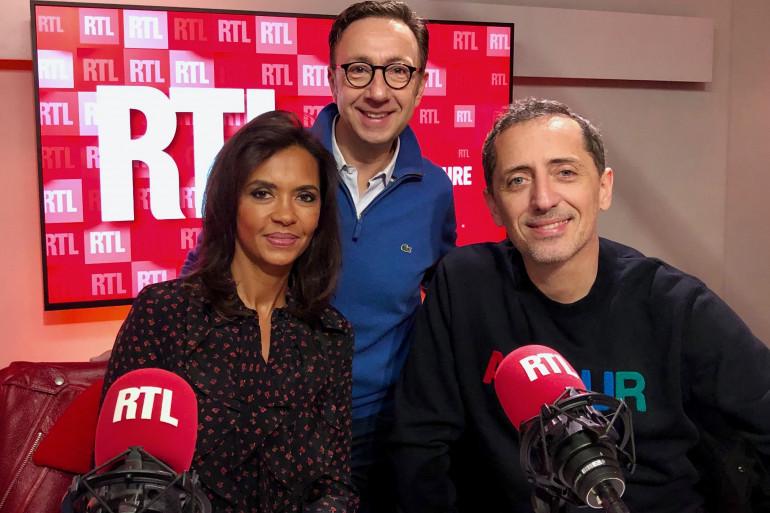 Karine Le Marchand et Gad Elmaleh sont les invités de Stéphane Bern