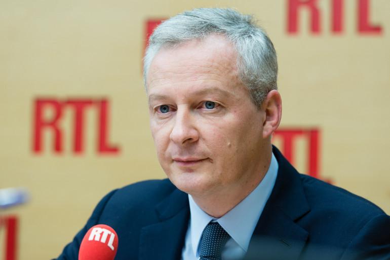Bruno Le Maire, invité de RTL le 31 janvier 2018.