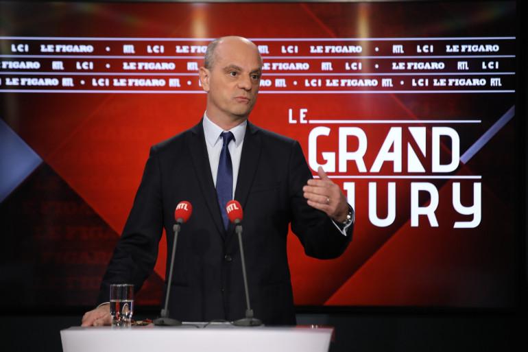 Jean-MIchel Blanquer lors du Grand Jury RTL, Le Figaro, LCI le 15 décembre 2019