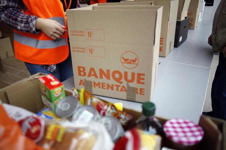 Une collecte de la banque alimentaire