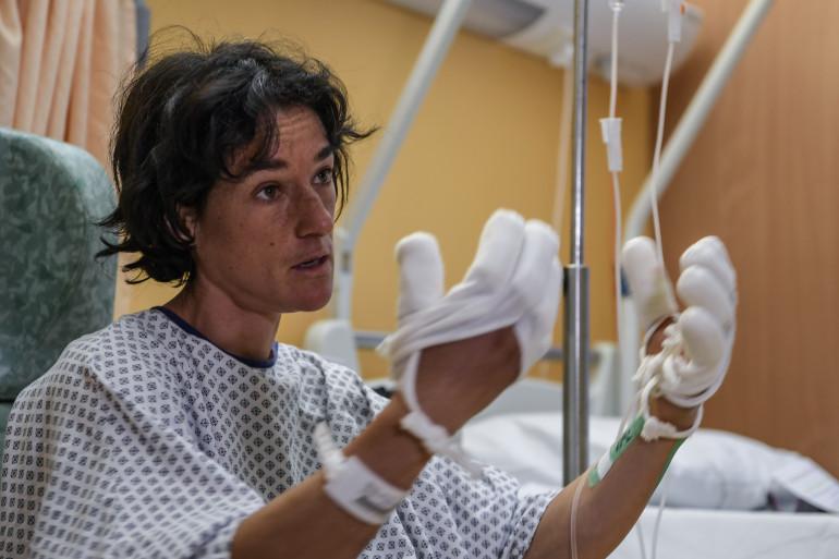 L'alpiniste Élisabeth Revol est actuellement hospitalisée en France après avoir été secourue in extremis dans l'Himalaya.