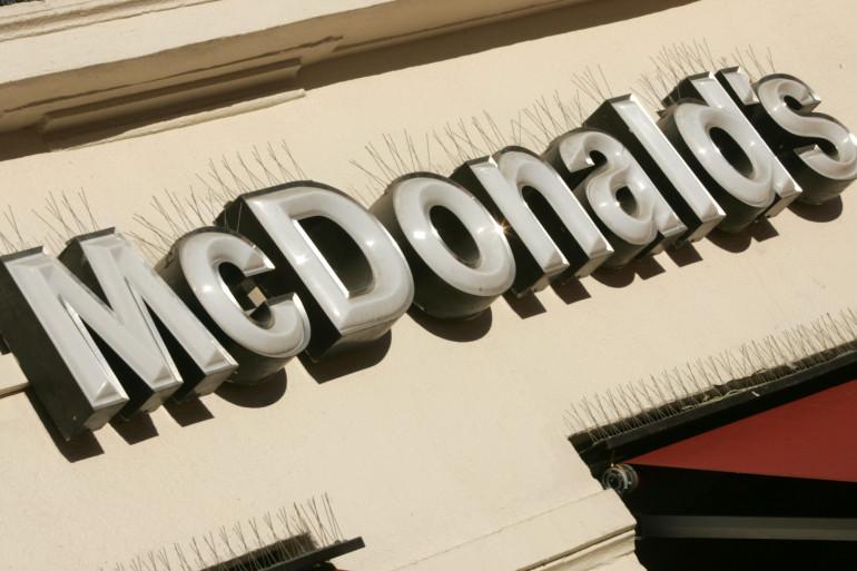 Une enseigne de McDonald's (illustration).